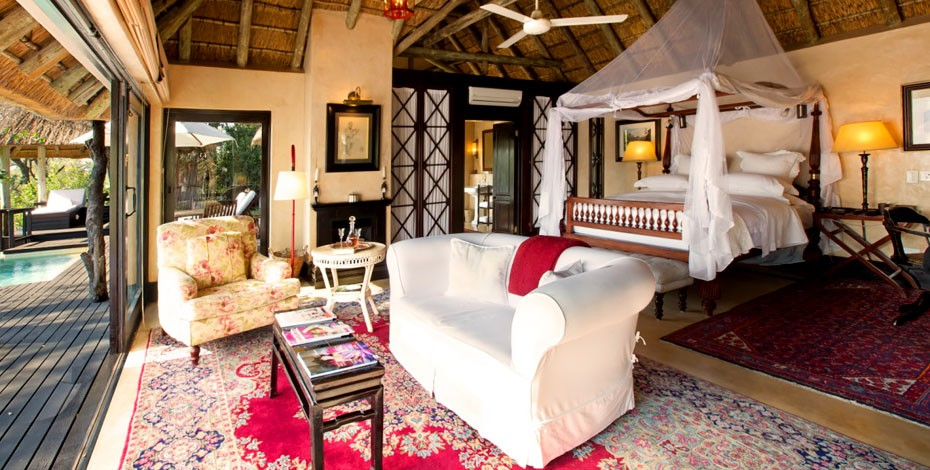 Luxury suite at Royal Malewane