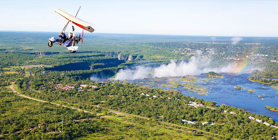 The Victoria Falls 'Flight of Angels'