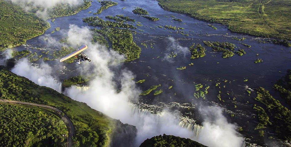 Victoria Falls 'Flight of Angels'