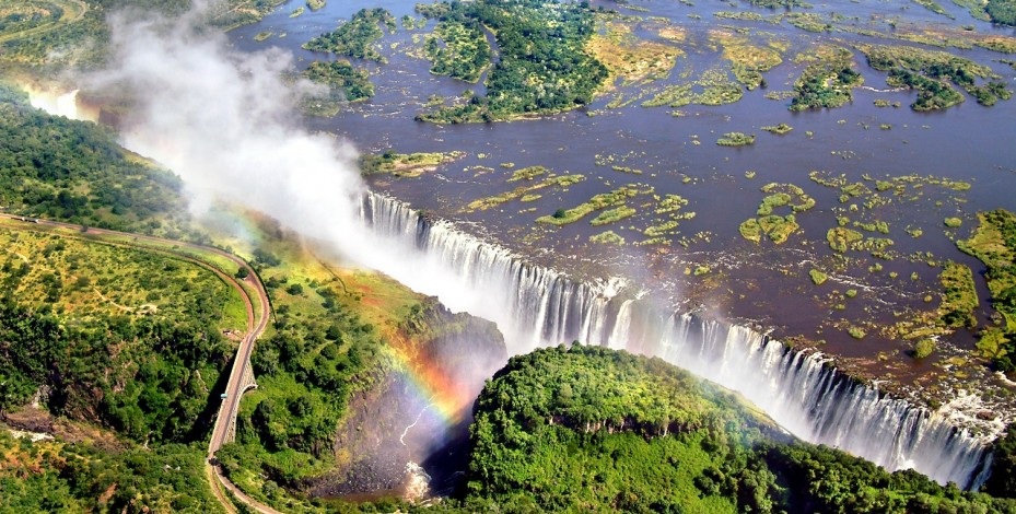 Take the 'Flight of Angels' over Victoria Falls