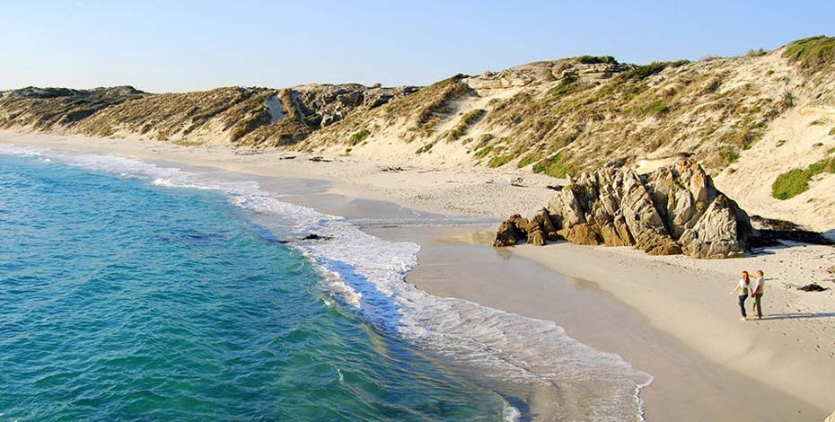 Beautiful beaches on the southern tip of Africa