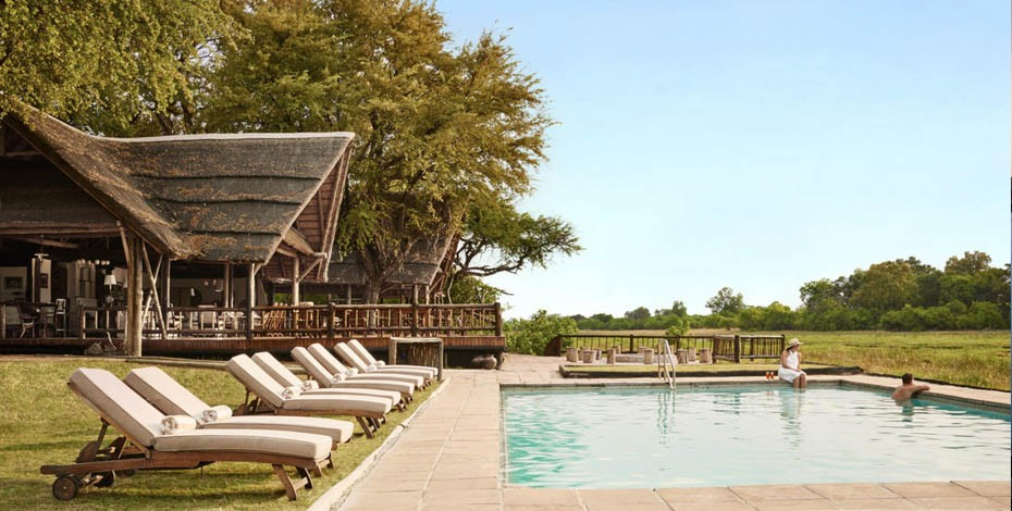Belmond Khwai River Lodge swimming pool