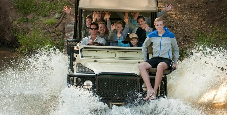 Morukuru Lodge offers family game drives