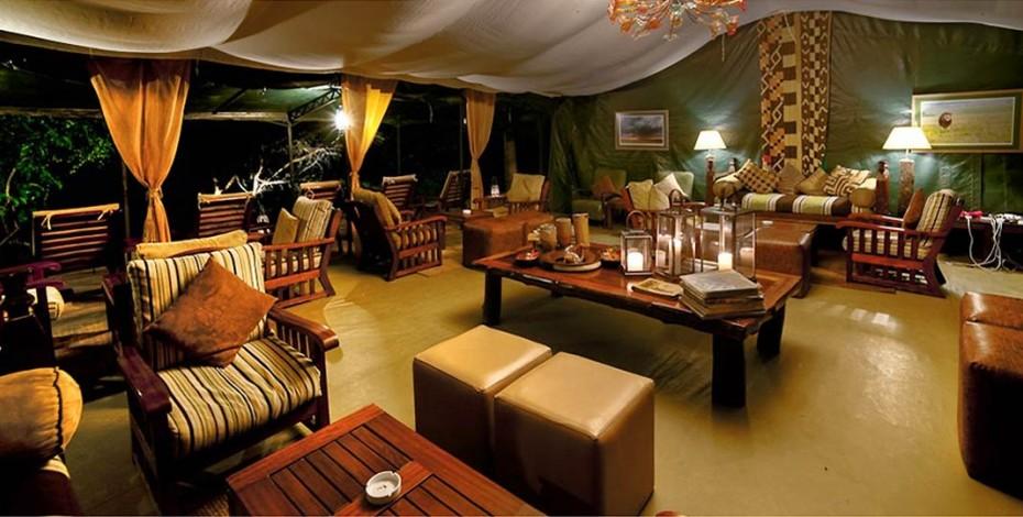 Lounge at Ilkeliani Camp