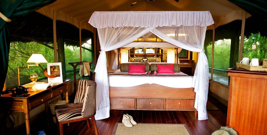 Samburu Intrepids tent interior