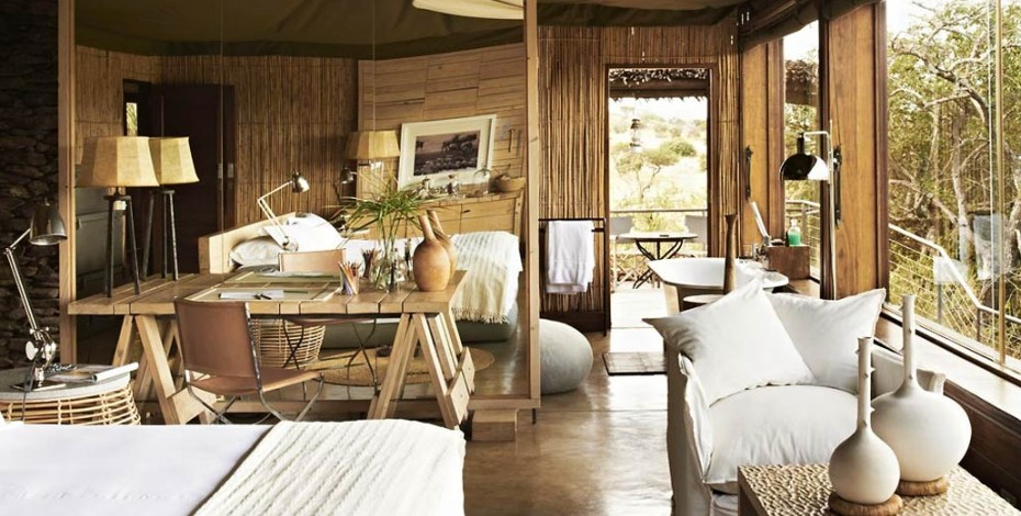 Suite at Singita Faru Faru