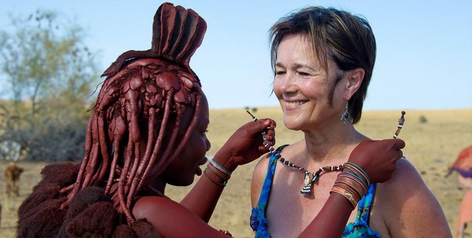 Himba woman in Kaokoland