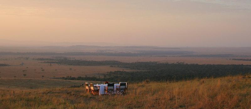 Bush dining in Tanzania | Sanctuary Private Camping
