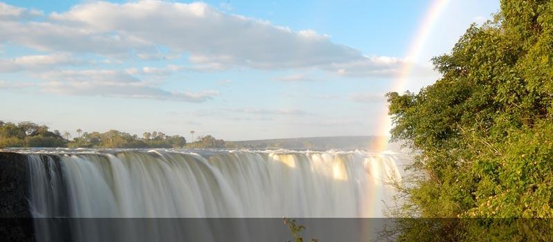 Magnificent Victoria Falls, Zimbabwe