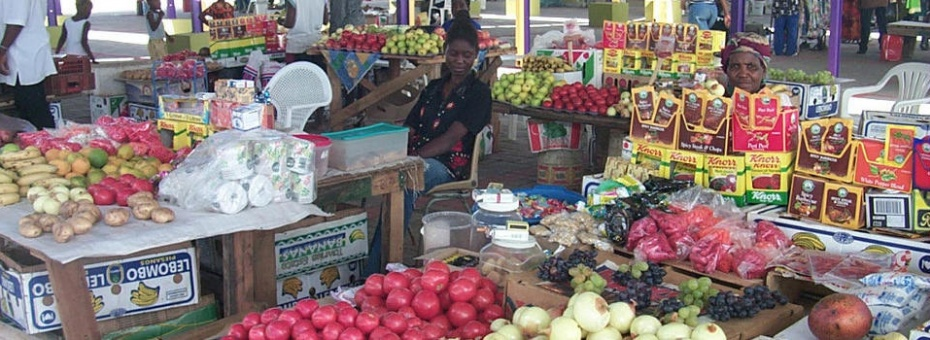 Market in Windhoek | Namibia Tourism