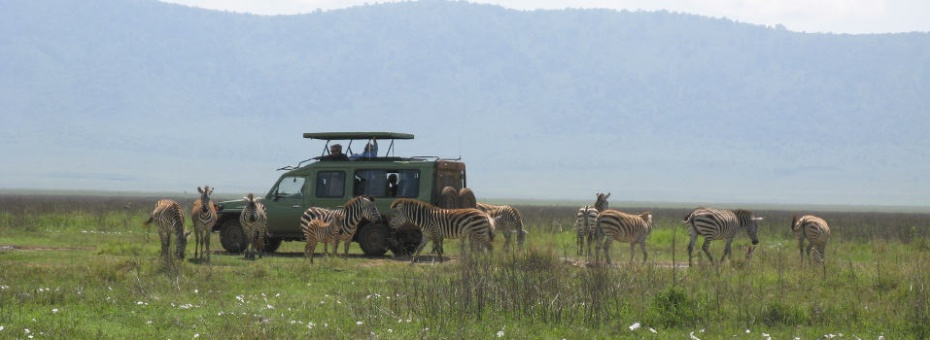 Game drive in the Ngorongoro Crater | Tanzania Tourist Board