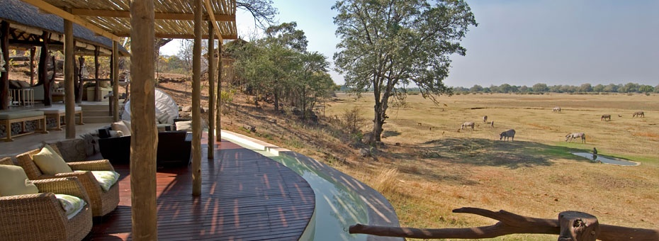 Puku Ridge overlooks plains dotted with game