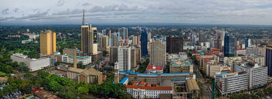 Kenya's capital city, Nairobi
