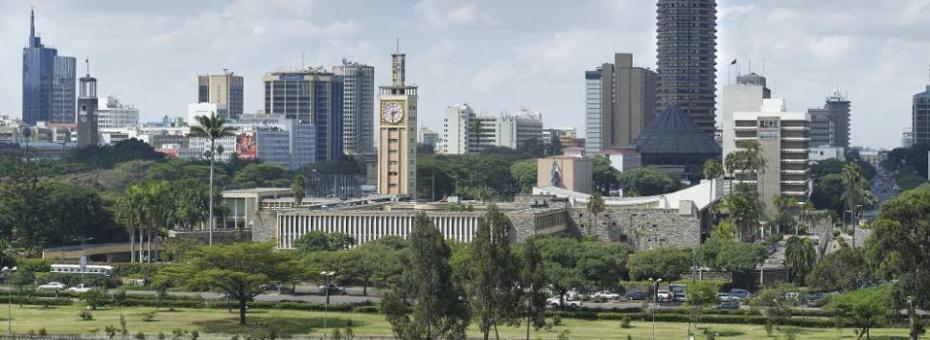 Views over Nairobi, Kenya's vibrant capital