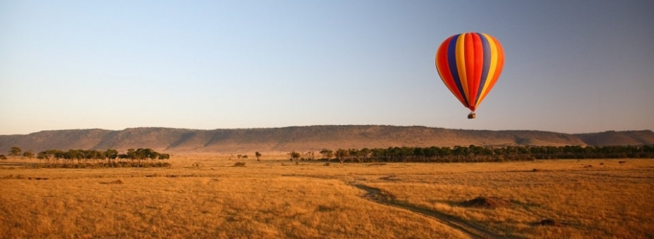 Ballooning in the Masai Mara at Governors' Camps