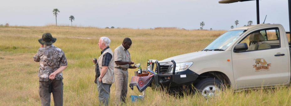 Game drive in Zimbabwe's Hwange National Park