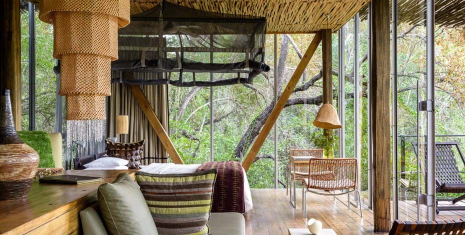 Singita luxury lodge in the Kruger