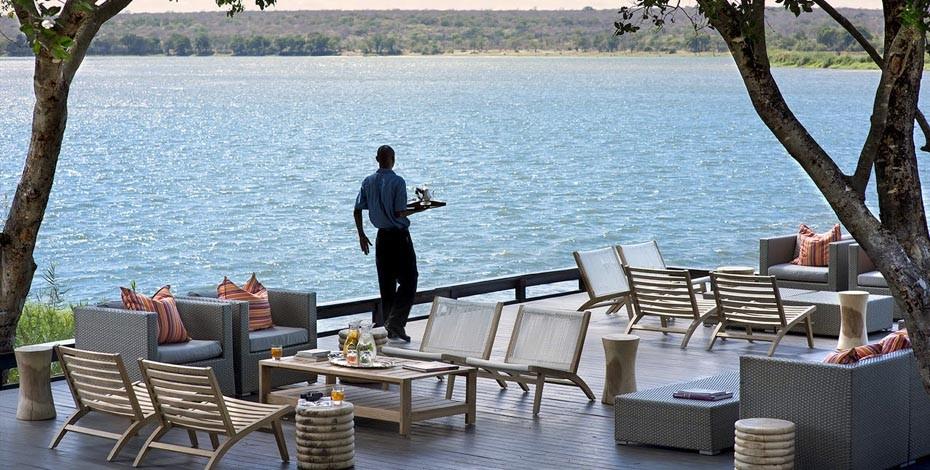 Royal Chundu on the Zambezi River