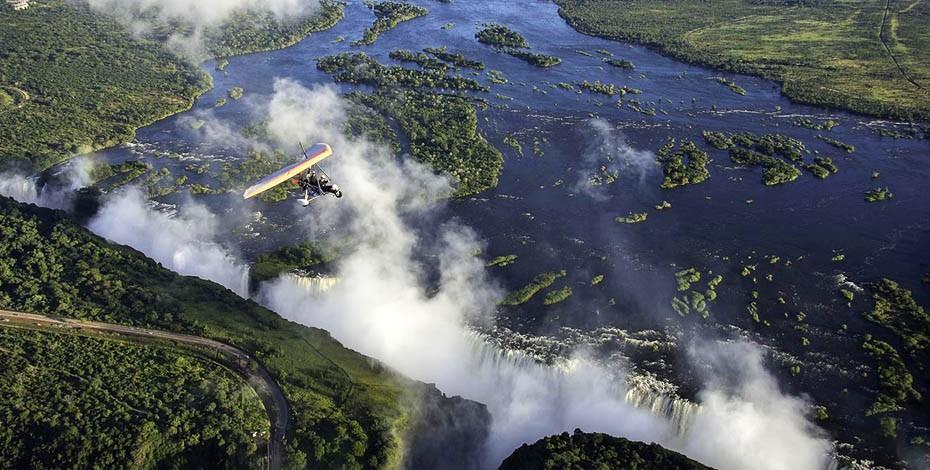 Victoria Falls 'Flight of Angels'