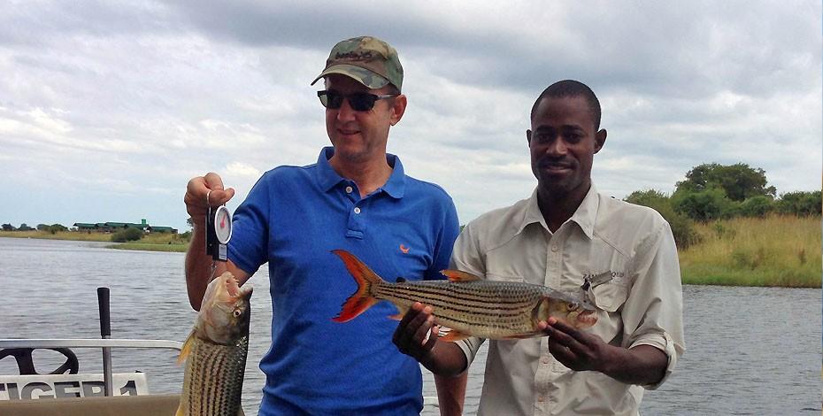 Zambezi Queen offers tiger fishing