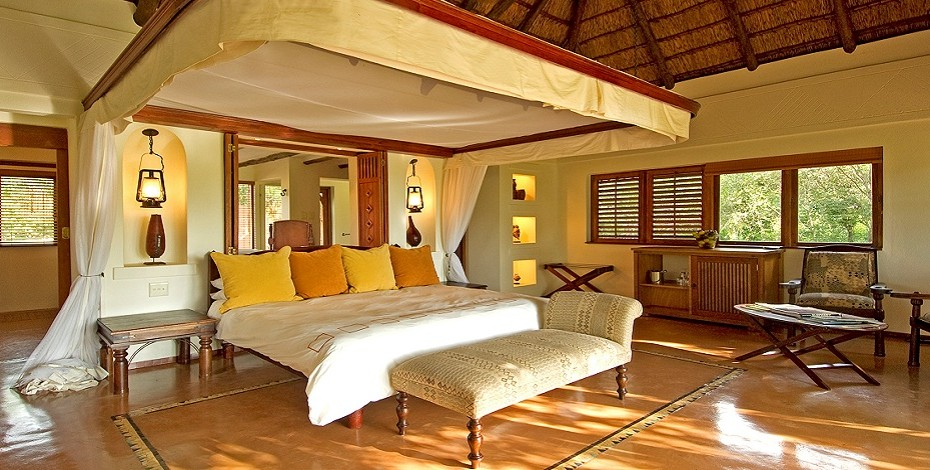 Chobe Chilwero, luxury Botswana lodge