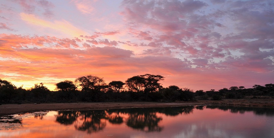 Savanna Lodge sunset