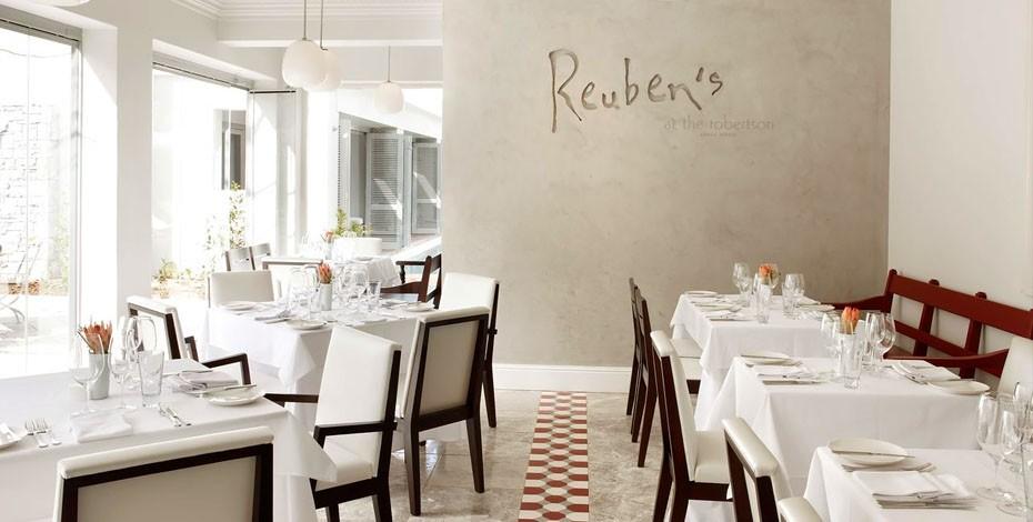 Reubens restaurant at the Robertson Small