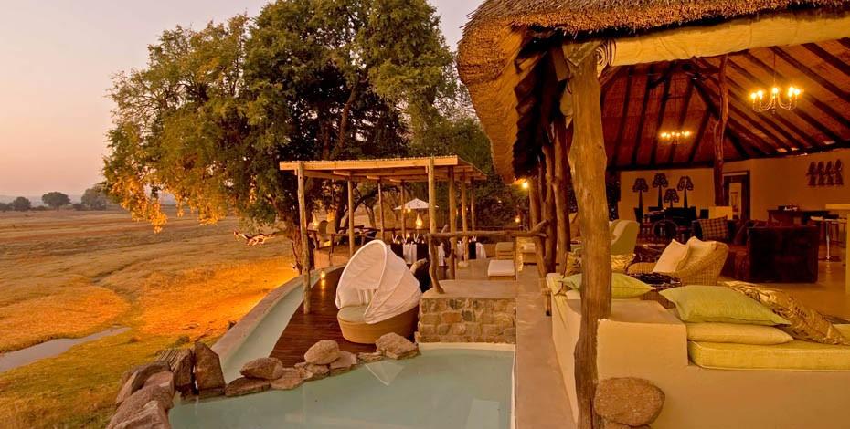 Luxury accommodation at Puku Ridge