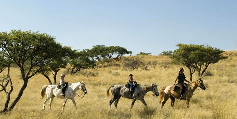 Kalahari horseback safari