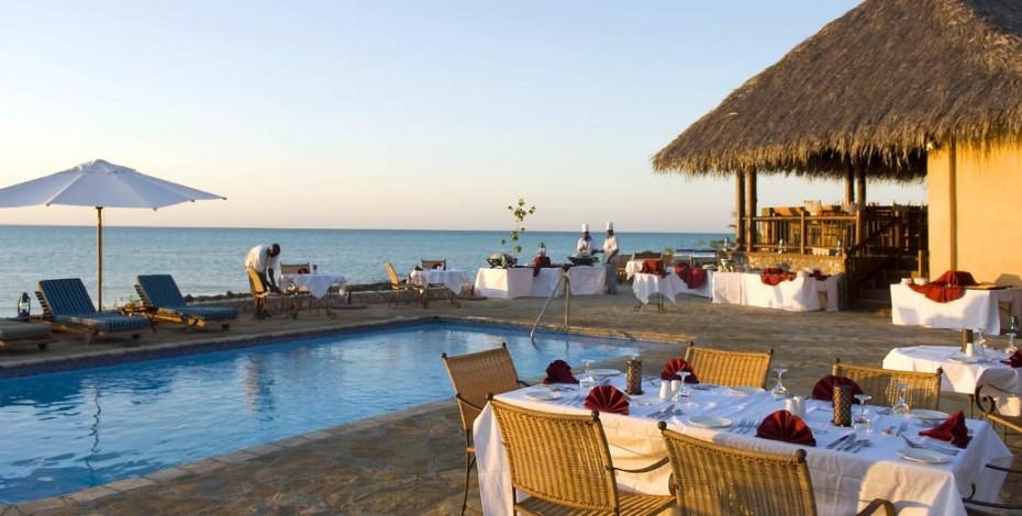 Dinner at Medjumbe Island