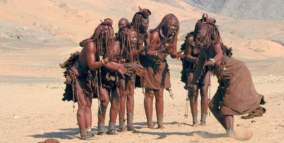 Nomadic Himba people of Namibia
