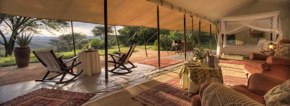Cottars 1920s honeymoon tent