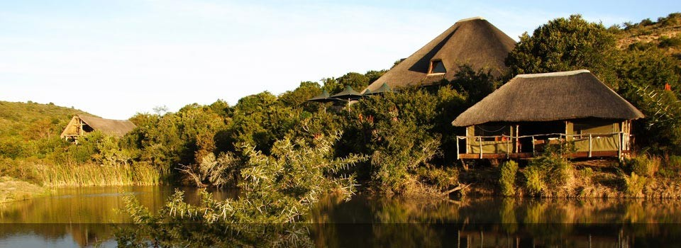The exterior view of Shamwari - Bayethe Lodge