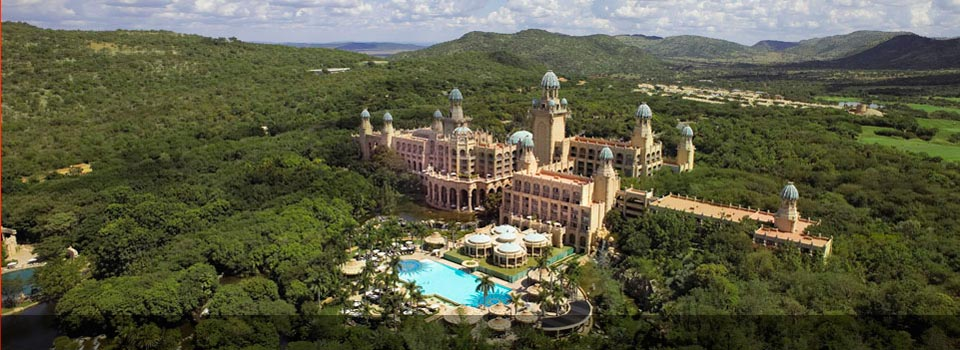 Sun City - Palace of the Lost City Aerial View
