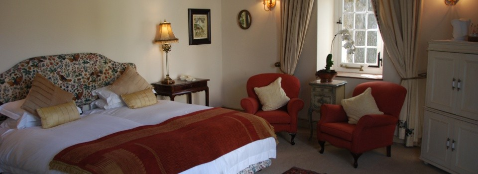 Guestroom at Auberge Clermont