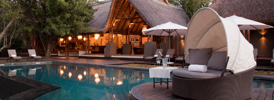 Pool at Royal Chundu Zambezi River Lodge