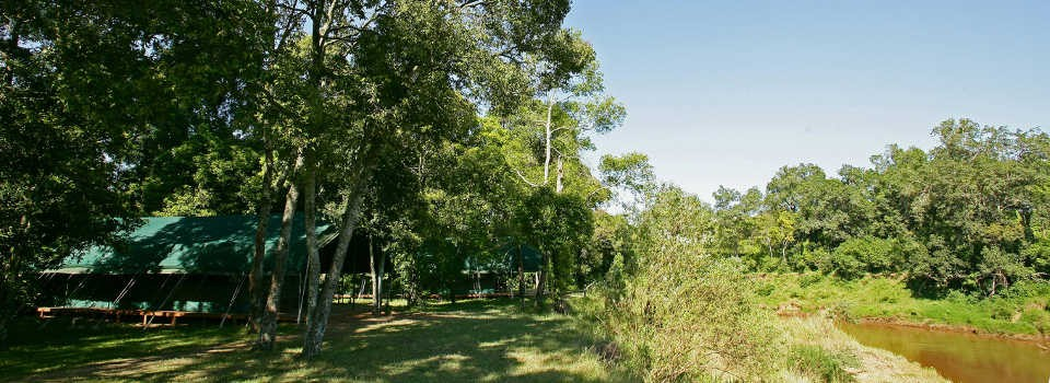 Exterior views of Governors' Private Camp in the Masai Mara