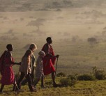 Walking with the Masaai at Tortilis Camp