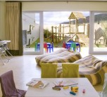 Playroom at the child-friendly Sanbona Gondwana Lodge