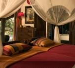 The Luxury bedroom at Singita Ebony Lodge